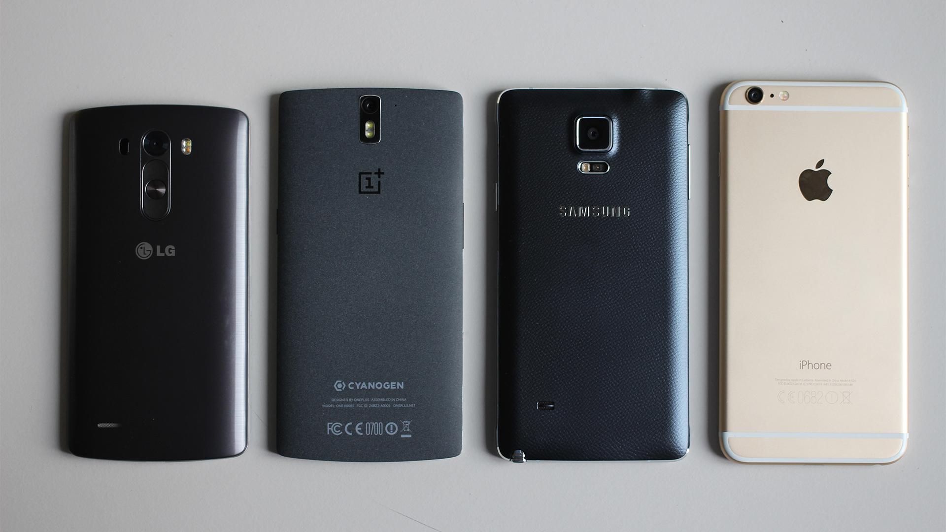 Smartphones sales overtake feature phone shipments
